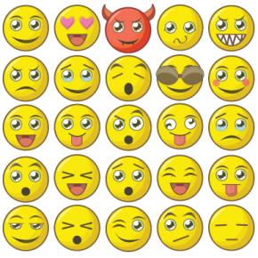 Des Smileys à gogo !