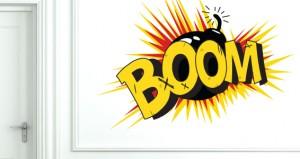 """Sticker explosion """"BOOM!"""""""